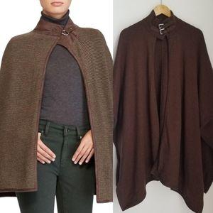Ralph Lauren Cashmere Silk Cape Sweater